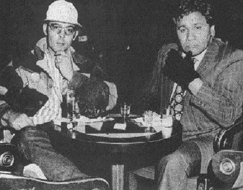Fear and Loathing in Las Vegas: Hunter S. Thompson und  Oscar Zeta Acosta im Jahr 1971. (Bild: Wikimedia)