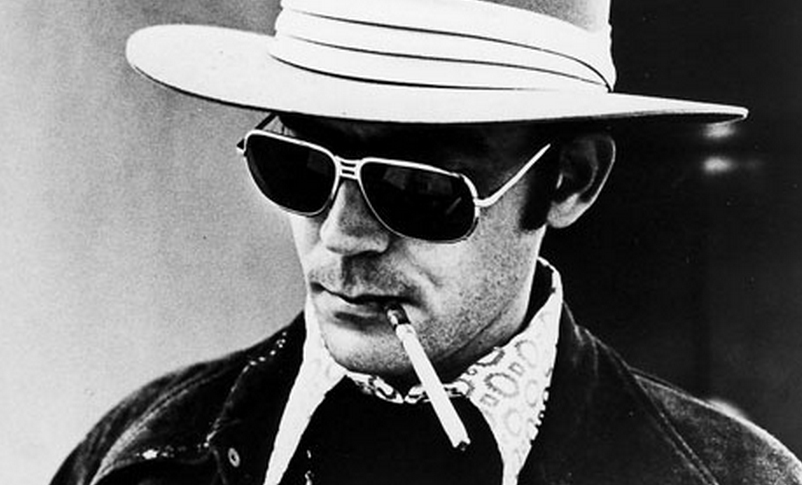 "Hunter S. Thompson: ""What was the story? Nobody had bothered to say."" (Bild: tetw.org)"
